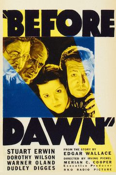 Before Dawn movie poster.