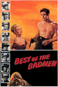 Best of the Badmen movie poster.