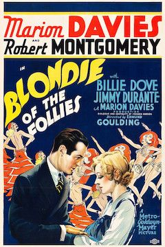 Blondie Of The Follies movie poster.