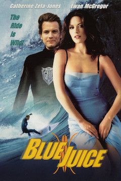 Blue Juice movie poster.