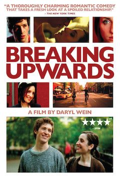Breaking Upwards movie poster.