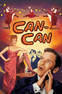 Can-Can movie poster.