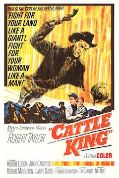 Cattle King movie poster.