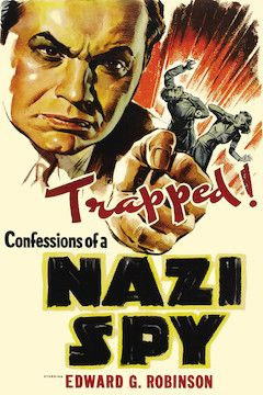 Confessions of a Nazi Spy movie poster.