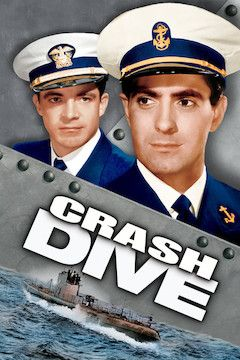 Crash Dive movie poster.