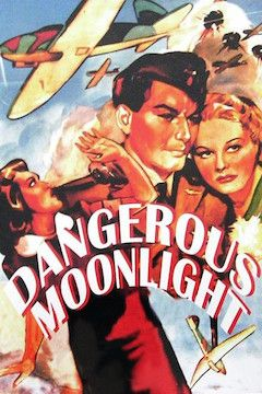 Dangerous Moonlight movie poster.
