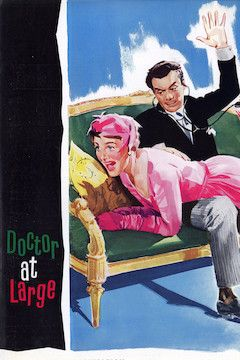 Doctor at Large movie poster.