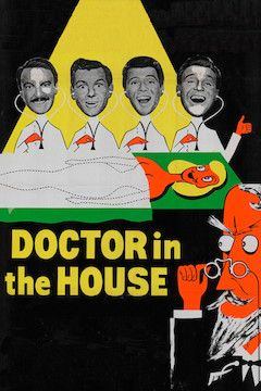 Doctor in the House movie poster.