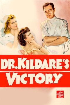Dr. Kildare's Victory movie poster.
