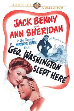 George Washington Slept Here movie poster.