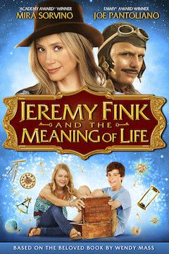 Poster for the movie Jeremy Fink and the Meaning of Life