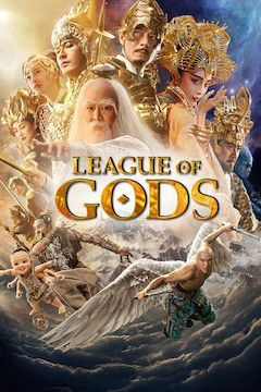 League of Gods movie poster.