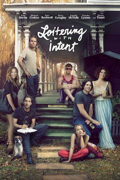 Loitering With Intent movie poster.
