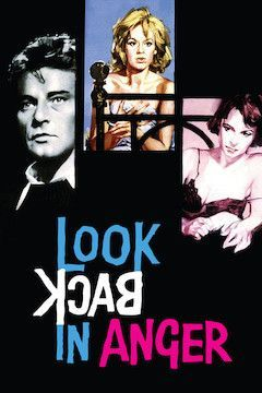 Look Back in Anger movie poster.