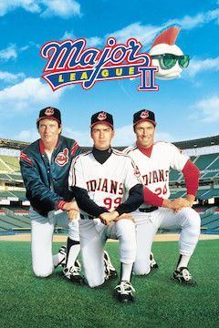 Major League II movie poster.