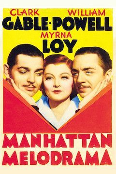 Manhattan Melodrama movie poster.