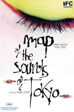 Map of the Sounds of Tokyo movie poster.