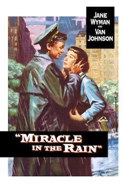 Poster for the movie Miracle in the Rain