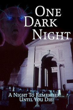 One Dark Night movie poster.