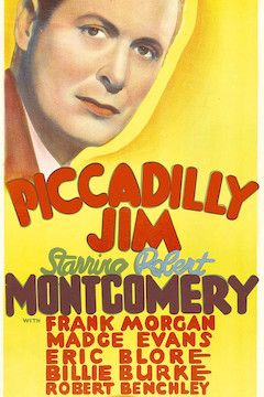 Piccadilly Jim movie poster.