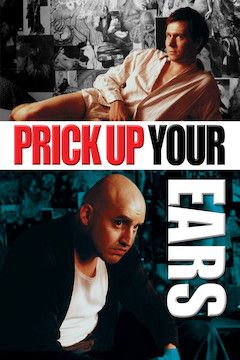Prick Up Your Ears movie poster.