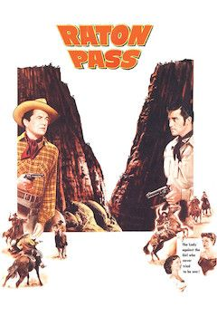 Raton Pass movie poster.