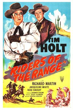 Riders of the Range movie poster.