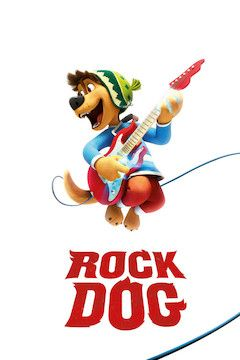 Rock Dog movie poster.
