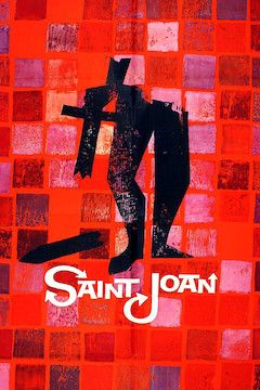 Saint Joan movie poster.