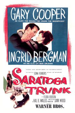 Saratoga Trunk movie poster.