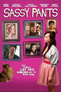 Sassy Pants movie poster.