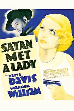 Satan Met a Lady movie poster.