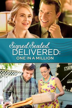Signed, Sealed, Delivered: One in a Million movie poster.