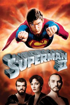 Poster for the movie Superman II