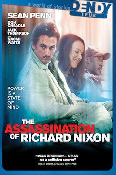 The Assassination of Richard Nixon movie poster.