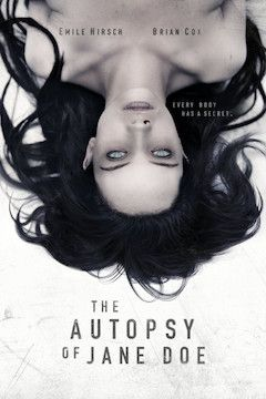 The Autopsy of Jane Doe movie poster.