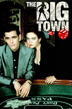 The Big Town movie poster.