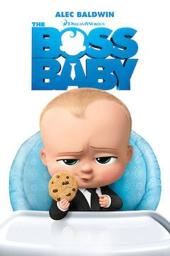 The Boss Baby movie poster.