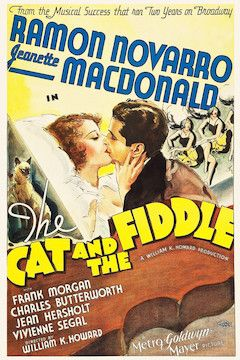 The Cat and the Fiddle movie poster.