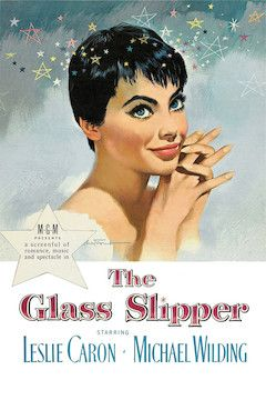The Glass Slipper movie poster.