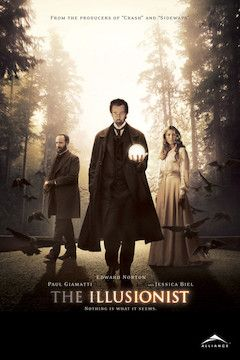 The Illusionist movie poster.