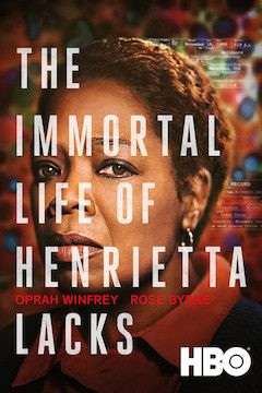 The Immortal Life of Henrietta Lacks movie poster.