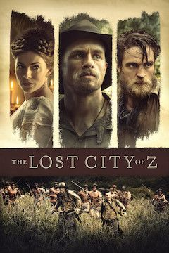 The Lost City of Z movie poster.