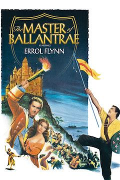 The Master of Ballantrae movie poster.