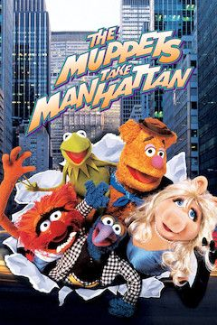 Poster for the movie The Muppets Take Manhattan