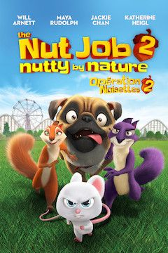 The Nut Job 2: Nutty by Nature movie poster.