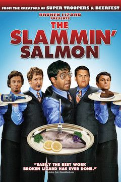 The Slammin' Salmon movie poster.
