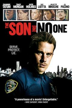 The Son of No One movie poster.