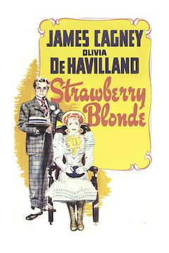 The Strawberry Blonde movie poster.