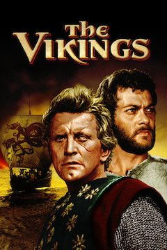 The Vikings movie poster.